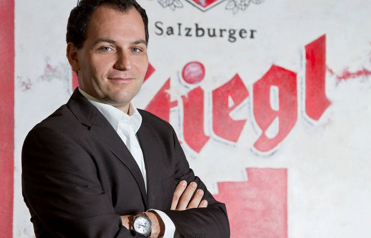 Marketingleiter bei Stiegl: Dr. Torsten Pedit