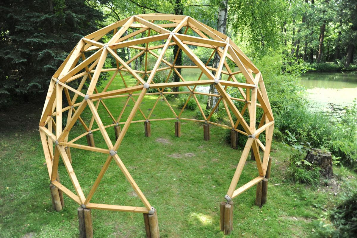 Geodätische Kuppel green domes