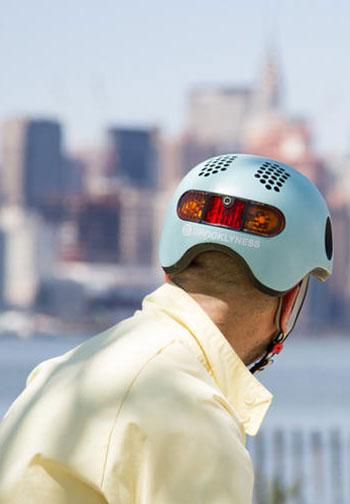 The Classon Helmet - ein Radhelm, dessen Technologie intuitiv zu sein scheint.