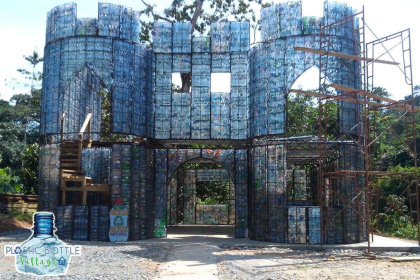 Plastic-bottle-village1
