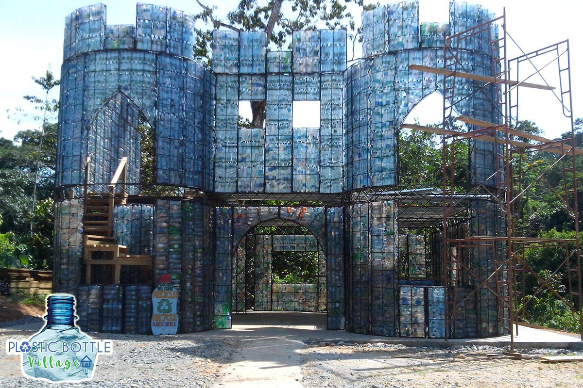 Plastic-bottle-village1