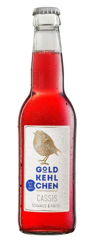Limited Cider-Edition Cassis von Goldkehlchen