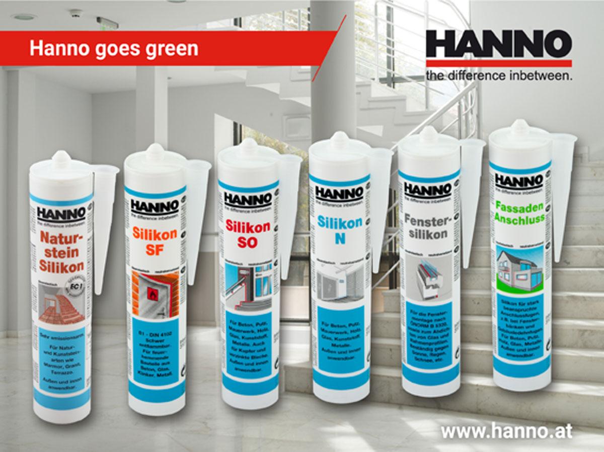 Für den langfristigen Umweltschutz: MEKO-freie Silikone von HANNO