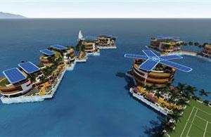 Schwimmende Inseln haben das Denken von Visionären schon seit Generationen beflügelt.