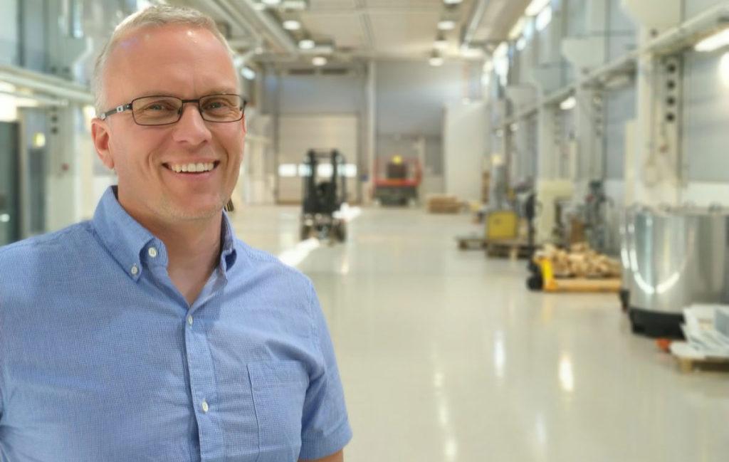 Janne Poranen, CEO und Mitbegründer von Spinnova.