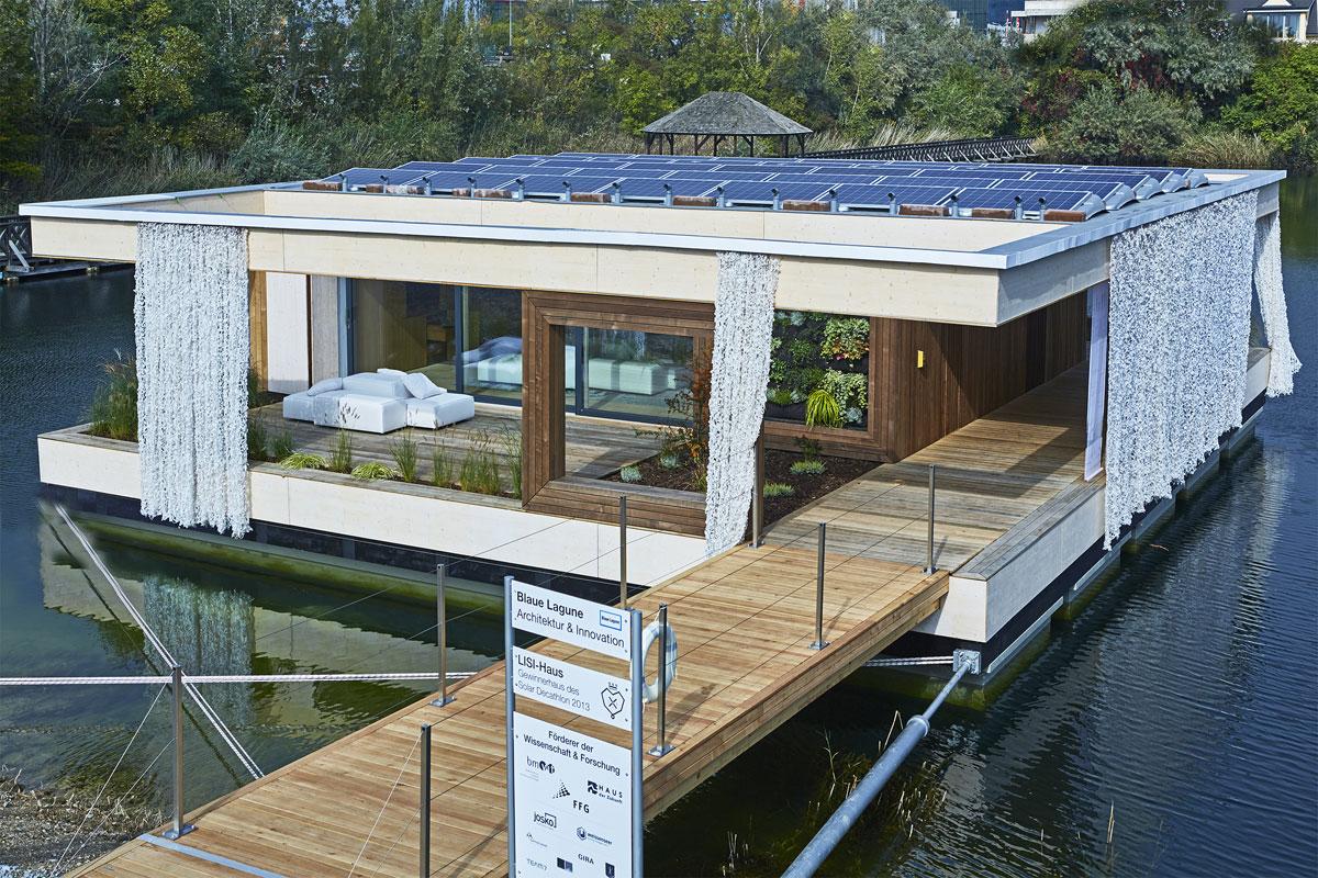 blaue lagune die neuesten trends beim hausbau. Black Bedroom Furniture Sets. Home Design Ideas